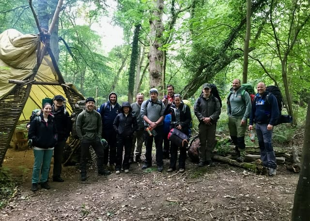 bushcraft 24 participants