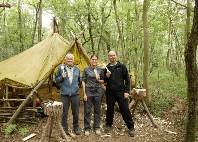 bushcraft experience September 2016