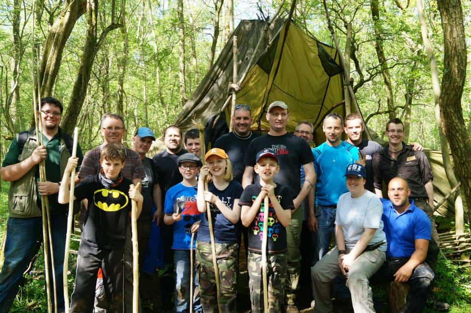 team building bushcraft day