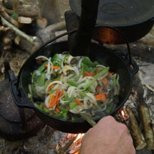 A nutritionally balanced bushcraft meal