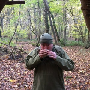 Keeping hydrated on a bushcraft course